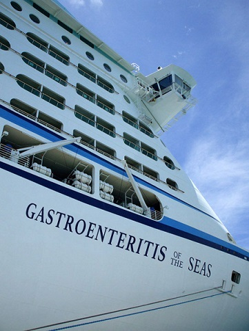 "El crucero ""Gastroenteritis of the Seas"""