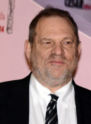 El productor de cine Harvey Weinstein